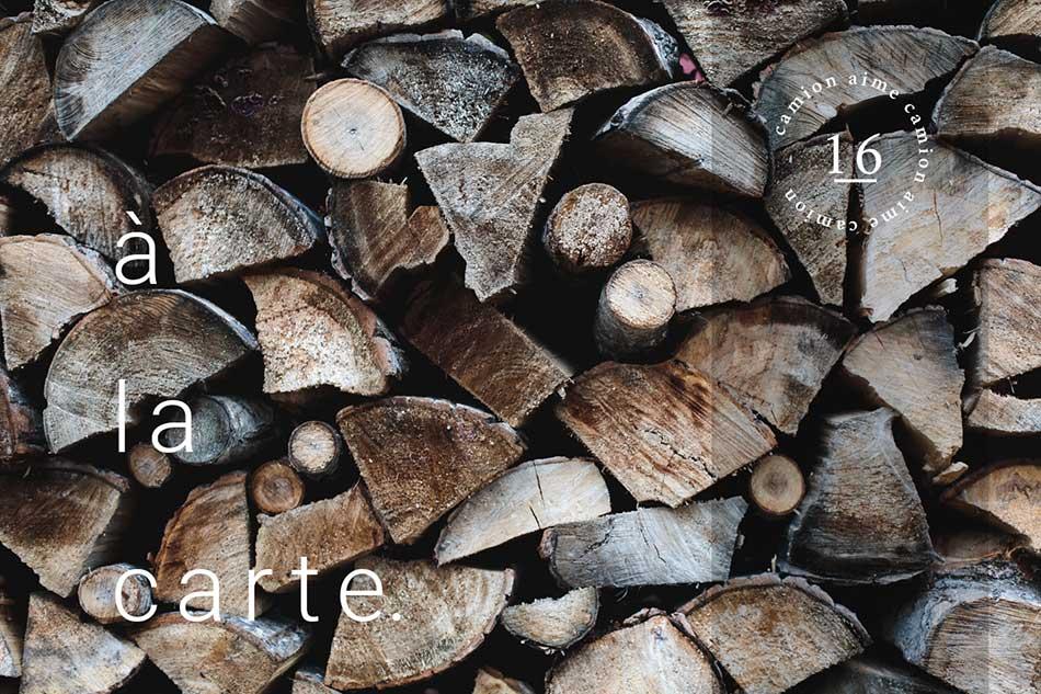Cordes de bois atelier camion Marie-Eve Campbell
