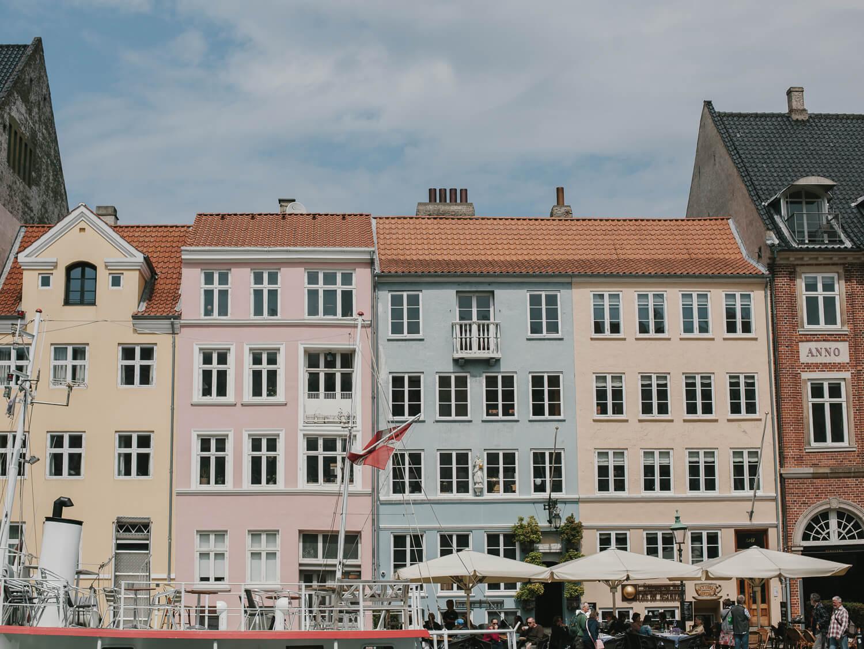 copenhague vieux port façades pastel Nyhavn