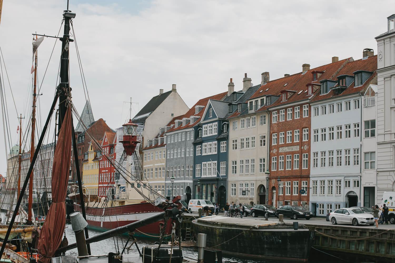 copenhague Nyhavn vieux port