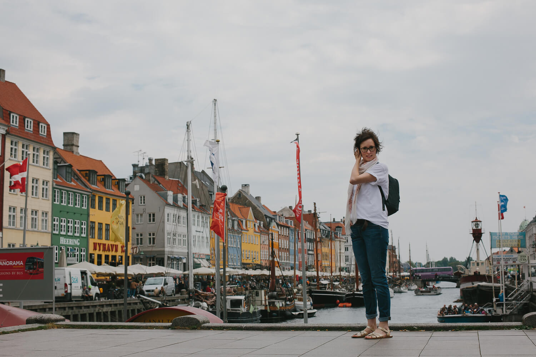 marie-eve campbell a copenhague Nyhavn