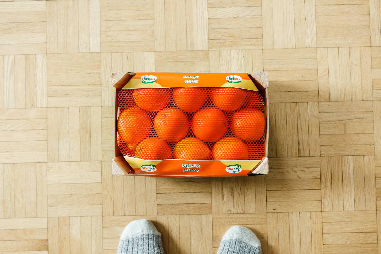 caisse oranges atelier camion photographe