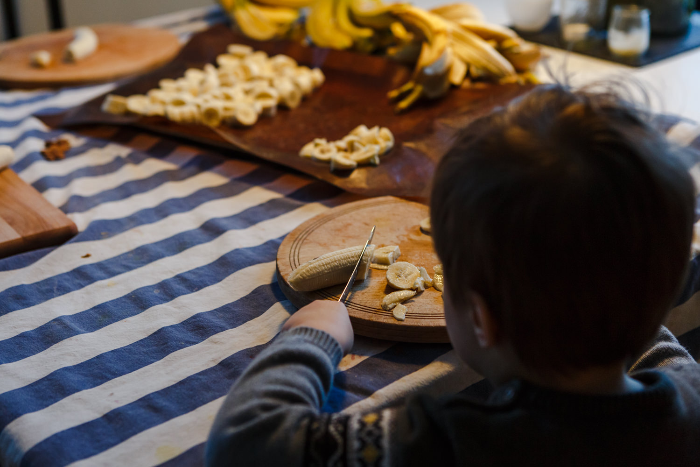 bananes congelés atelier camion photographe