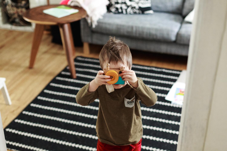 enfant camera en bois atelier camion photgraphe
