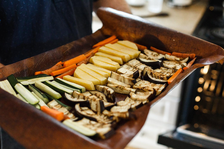légumes grilles maison photographe atelier camion bouffe
