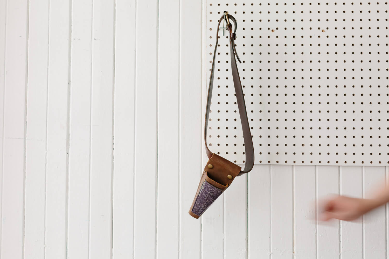atelier camion photographe objets photographie artisan cuir