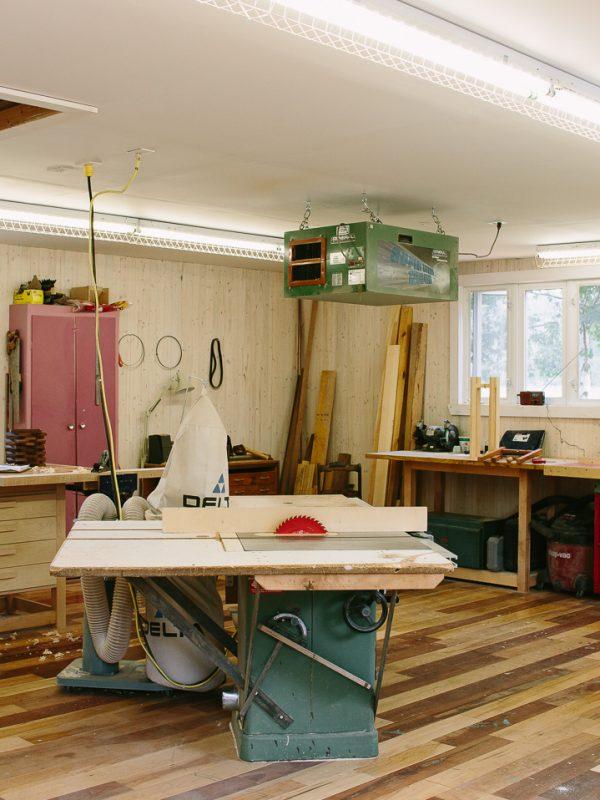 photo atelier artisan Kamouraska atelier camion