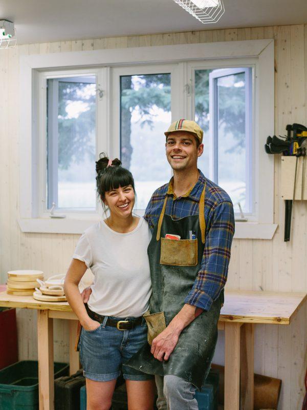 photo portrait artisan Kamouraska atelier camion