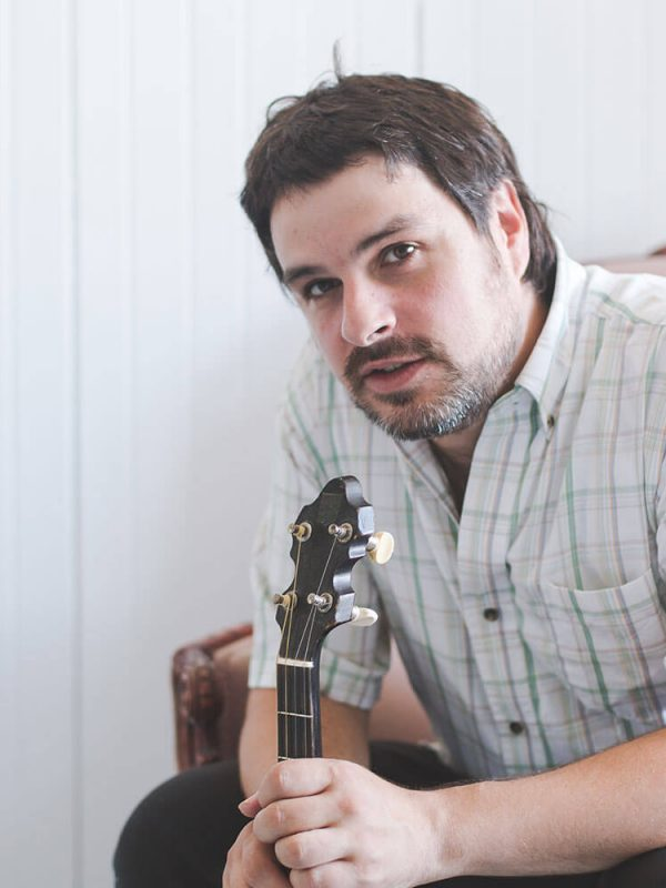 Eric normand portrait musicien photographe atelier camion Rimouski