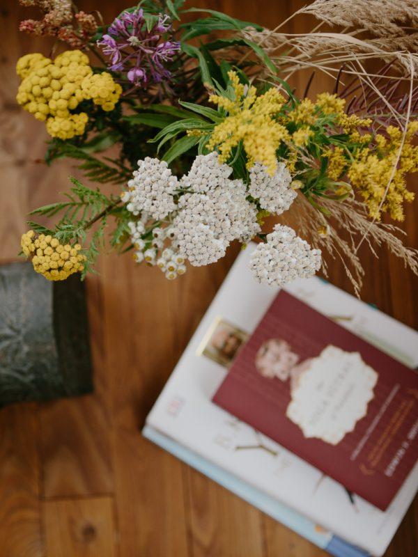 fleurs sauvages photo lifestyle atelier camion le bic