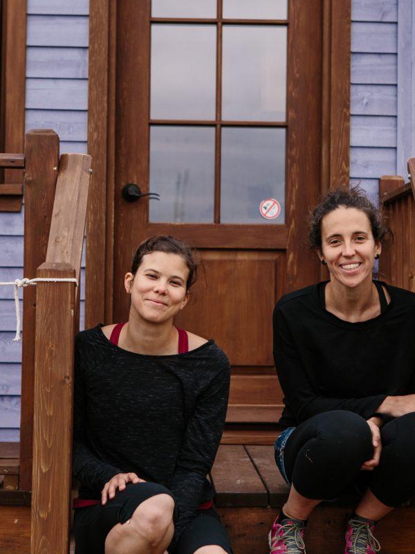 portrait Myriam et Annemarie domaine floravie le bic atelier camion