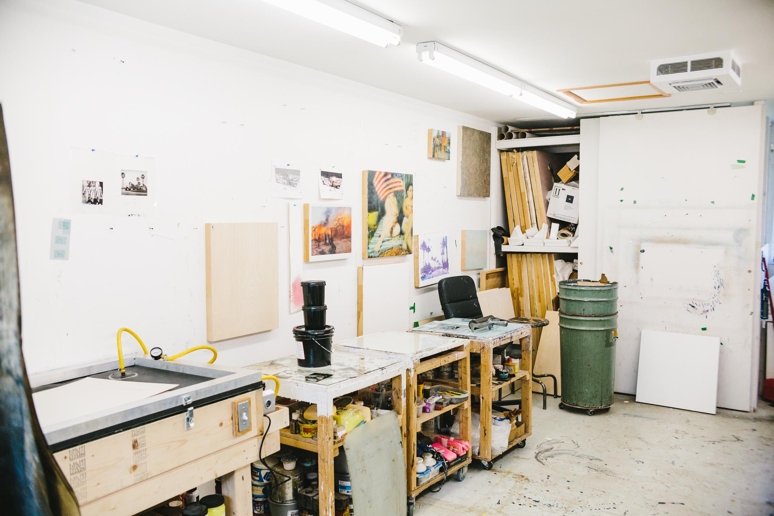 Pierre Durette artiste atelier causapscal